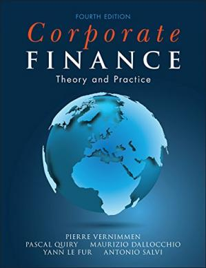 Book cover Corporate Finance: Theory and Practice