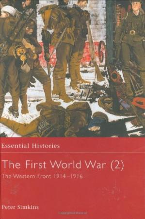 书籍封面 The First World War: The Western Front 1914-1916