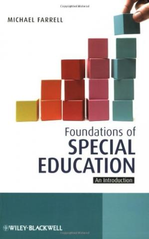 Book cover Foundations of Special Education: An Introduction