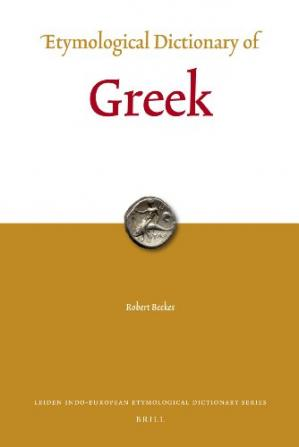 Book cover Etymological Dictionary of Greek (vols. 1 & 2)