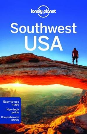 Book cover Lonely Planet Southwest USA