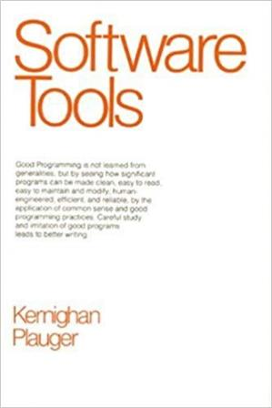 A capa do livro Software Tools