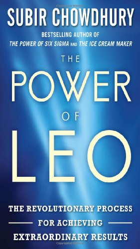 A capa do livro The Power of LEO: The Revolutionary Process for Achieving Extraordinary Results
