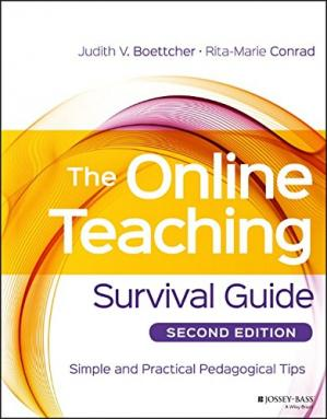 Book cover The Online Teaching Survival Guide: Simple and Practical Pedagogical Tips