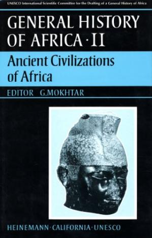 Обкладинка книги General History of Africa, Vol. 2: Ancient Civilizations of Africa