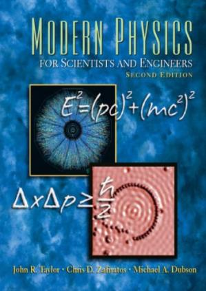 Book cover Modern Physics for Scientists and Engineers (2e)