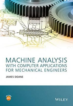 Buchdeckel Machine analysis with computer applications for mechanical engineers