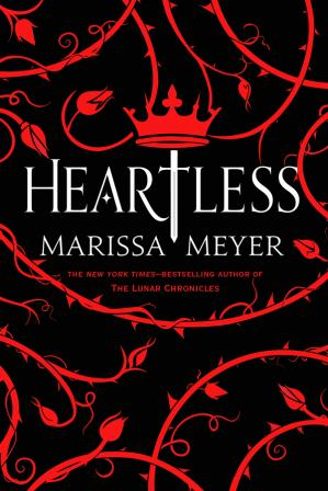 Book cover Heartless (US)