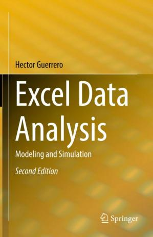 Обложка книги Excel Data Analysis: Modeling and Simulation