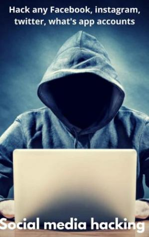 Couverture du livre Social media hacking: Hack Facebook,what's app,instagram,twitter accounts