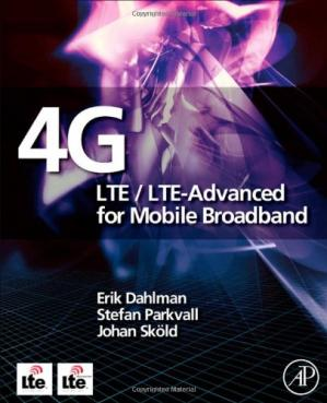 Обкладинка книги 4G: LTE LTE-Advanced for Mobile Broadband