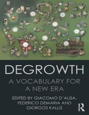 Book cover Degrowth