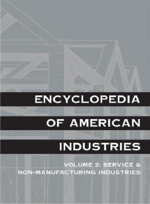 Book cover Encyclopedia of American Industries, Manufacturing Industries