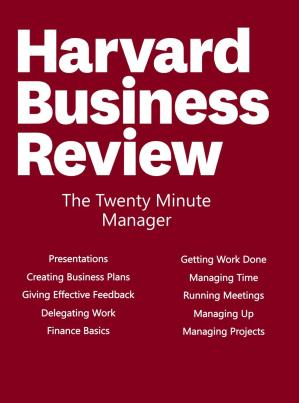 Book cover The Twenty Minute Manager