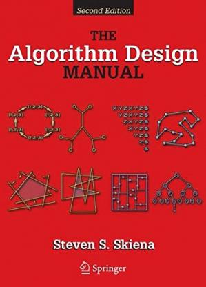 Обложка книги The algorithm design manual