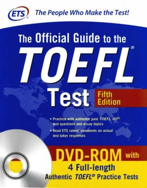 Book cover The Official Guide to the TOEFL Test, Fifth Edition