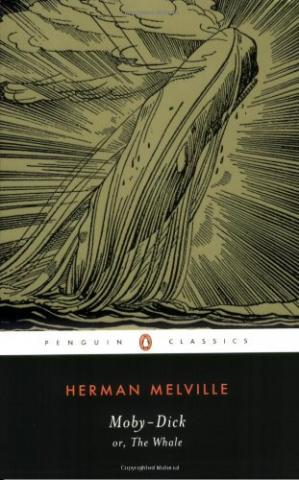 غلاف الكتاب Moby-Dick or, The Whale