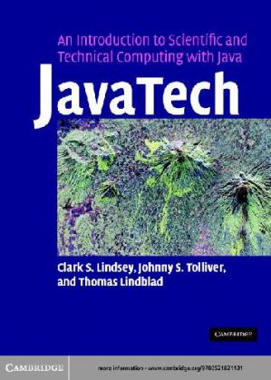 Couverture du livre JavaTech. An Introduction to Scientific and Technical Computing with Java