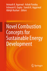 Book cover Novel Combustion Concepts for Sustainable Energy Development