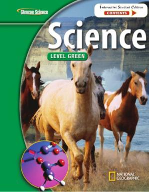 Book cover Glencoe Science: Level Green, Student Edition