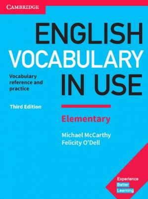 Εξώφυλλο βιβλίου English Vocabulary in Use Elementary Book with Answers and Enhanced eBook: Vocabulary Reference and Practice