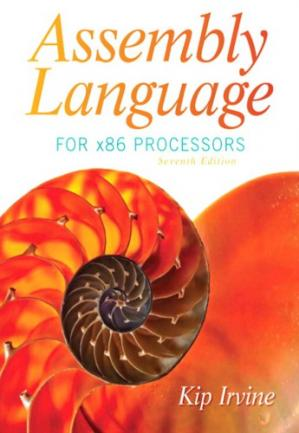 Book cover Assembly Language for x86 Processors