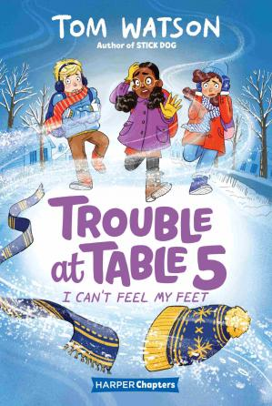 Book cover Trouble at Table 5 #4