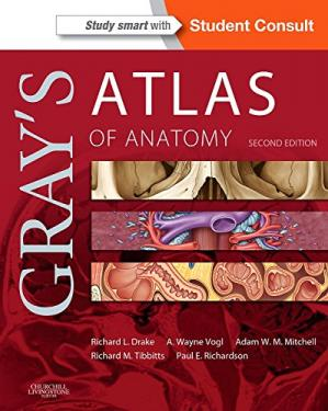 书籍封面 Gray's Atlas of Anatomy, 2nd Edition