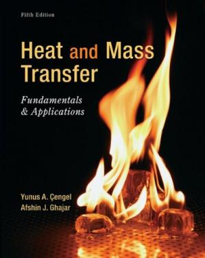Book cover Heat and mass transfer: fundamentals and applications