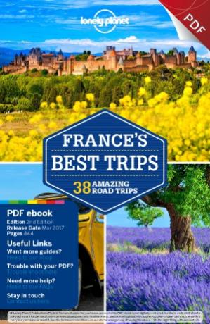 Copertina Lonely Planet  France's Best Trips (Travel Guide)
