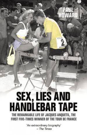 Book cover Sex, Lies and Handlebar Tape