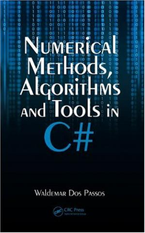 Book cover Numerical Methods, Algorithms and Tools in C'