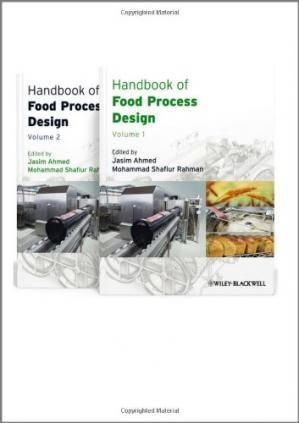 Sampul buku Handbook of Food Process Design