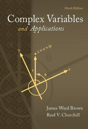 Book cover Complex Variables and Applications