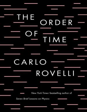 Book cover The order of time
