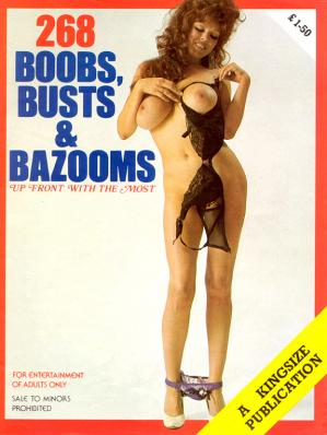 Book cover 268 Boobs Busts & Bazooms