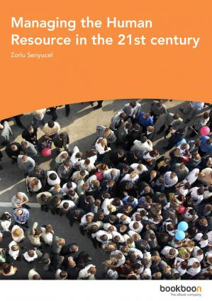 Book cover -Managing the Human Resource in the 21st century