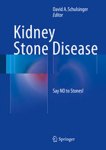 书籍封面 Kidney Stone Disease: Say NO to Stones!
