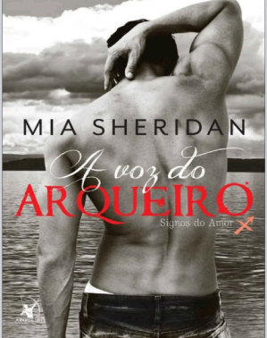 Book cover A voz do arqueiro (Signos do amor #1)