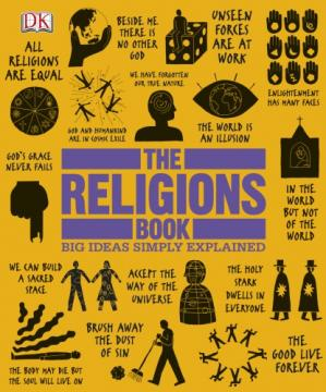 Գրքի կազմ The Religions Book (Big Ideas Simply Explained)