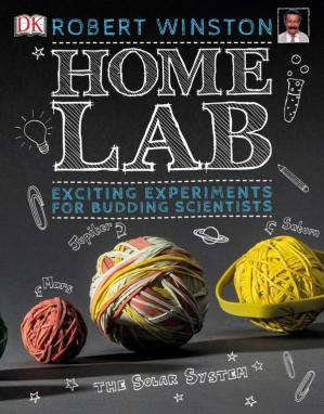 Book cover Home Lab: Exciting Experiments for Budding Scientists