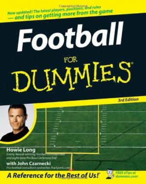 Book cover Football For Dummies, 3rd edition (For Dummies (Sports & Hobbies))