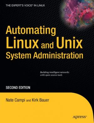 Book cover Automating Linux and Unix System Administration