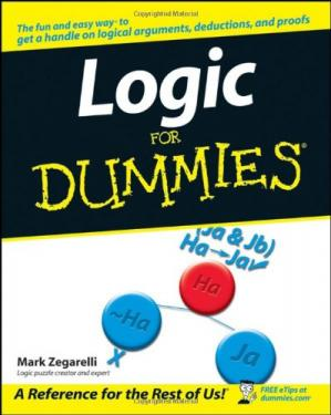 A capa do livro Logic For Dummies