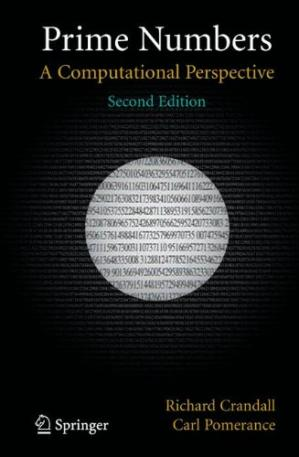 Book cover Prime numbers. A computational perspective