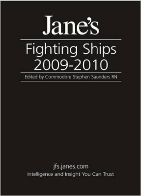 Portada del libro Jane's Fighting Ships 2009-2010