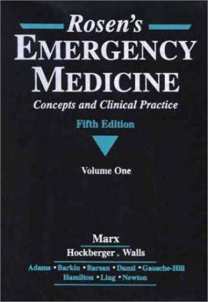 Book cover Rosen's Emergency Medicine: Concepts and Clinical Practice