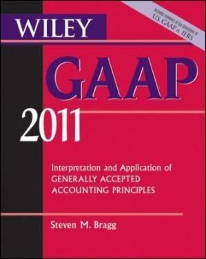 Εξώφυλλο βιβλίου Wiley GAAP: Interpretation and Application of Generally Accepted Accounting Principles 2011