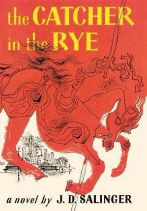 د کتاب پوښ The Catcher in the Rye