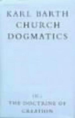 Couverture du livre The Doctrine of Creation (Church Dogmatics, vol. 3, pt. 2)